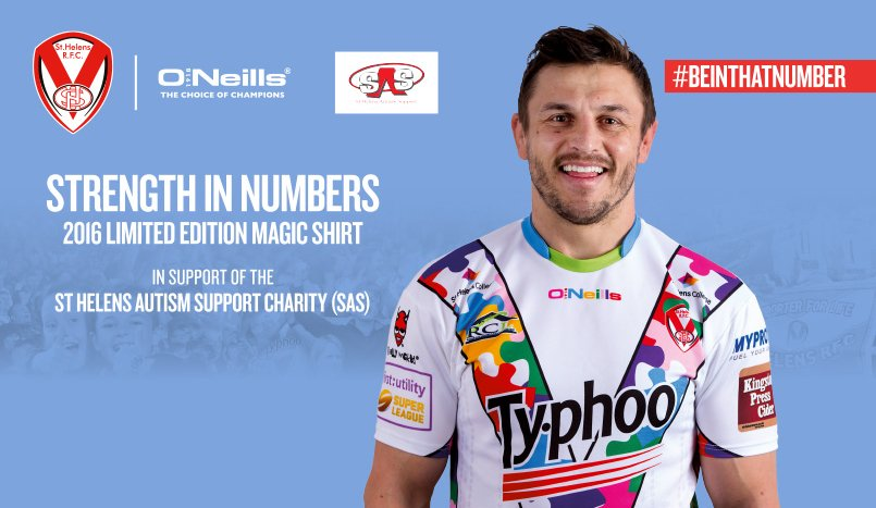 Saints Launch Autism Shirt for the Magic Weekend to raise awareness https://t.co/WJ6WwLVDYS