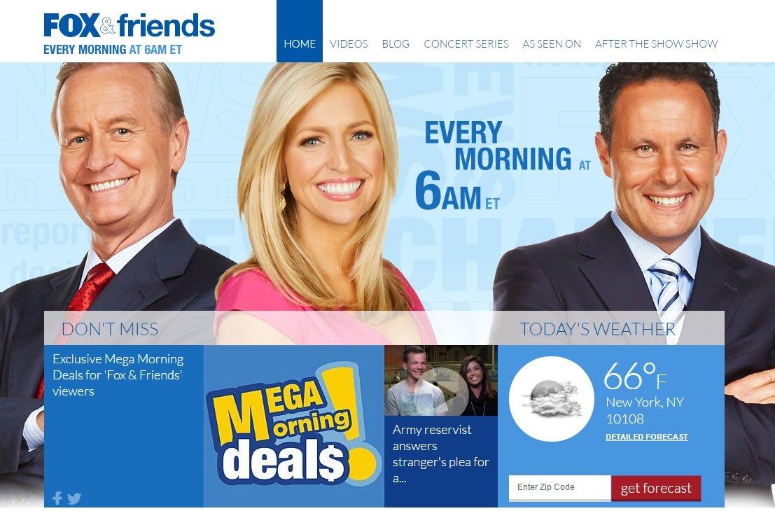foxandfriends morning deals