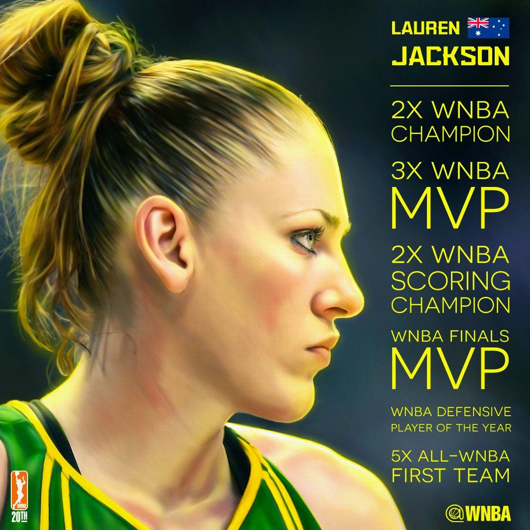 picture Lauren Jackson, 3x WNBA MVP