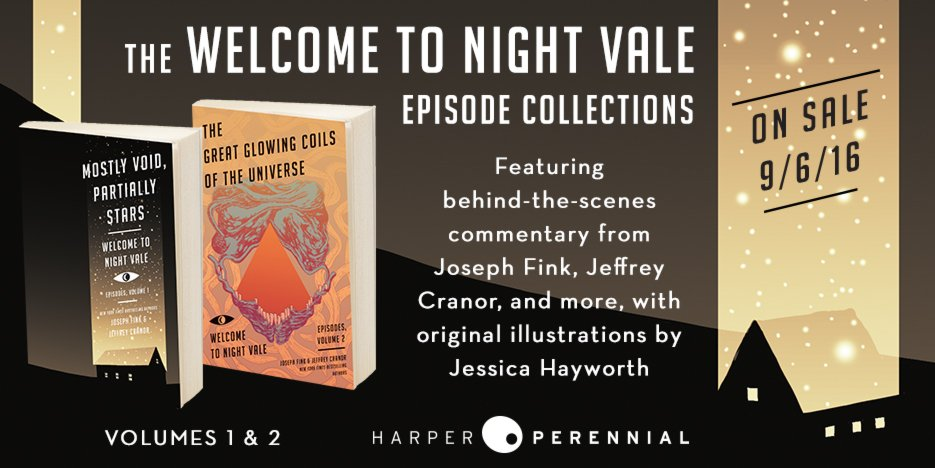 Night Vale Podcast On Twitter Volumes 1 2 Of Our Episode