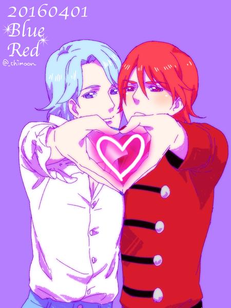 赤と緑とマッハートちむ (@_chimoon)さんのイラスト