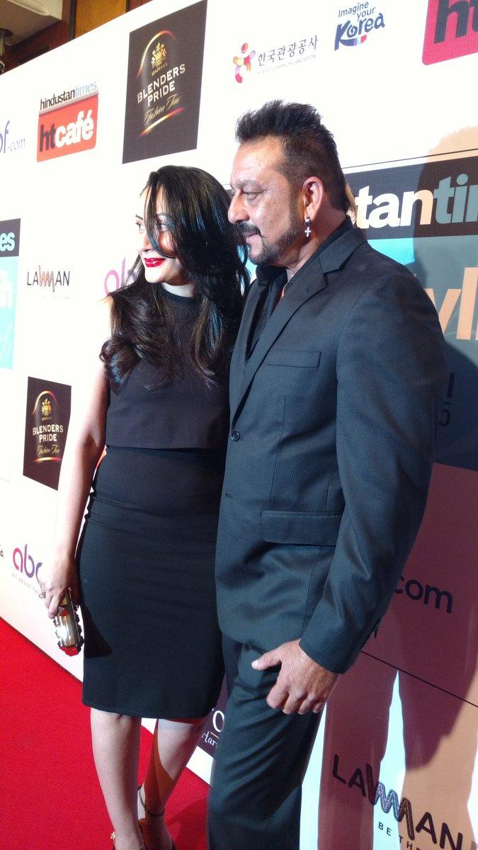 Sanjay Dutt at HT Most Stylist Awards 2016