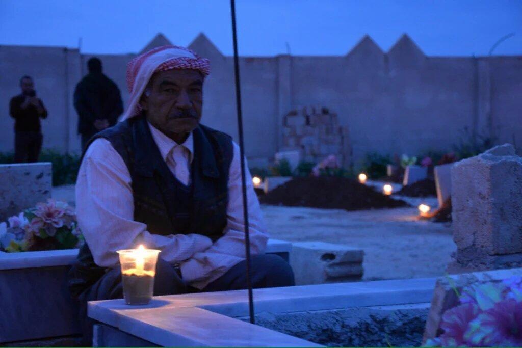 Kurds didnt forget heroes of #Kobane: Kurds light #Newroz candles 4 he...