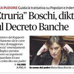 RT @antonio_bordin: La figlia scrive le norme che riguardano il padre: il ministro #Boschi è una vergogna nazionale. #BoschiDimettiti https…