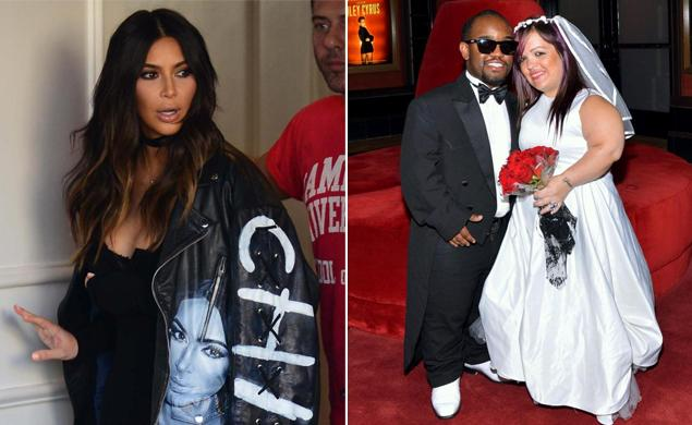 Mini Kim Kardashian dead boyfriend Mini Kanye West Las Vegas | Scoopnest