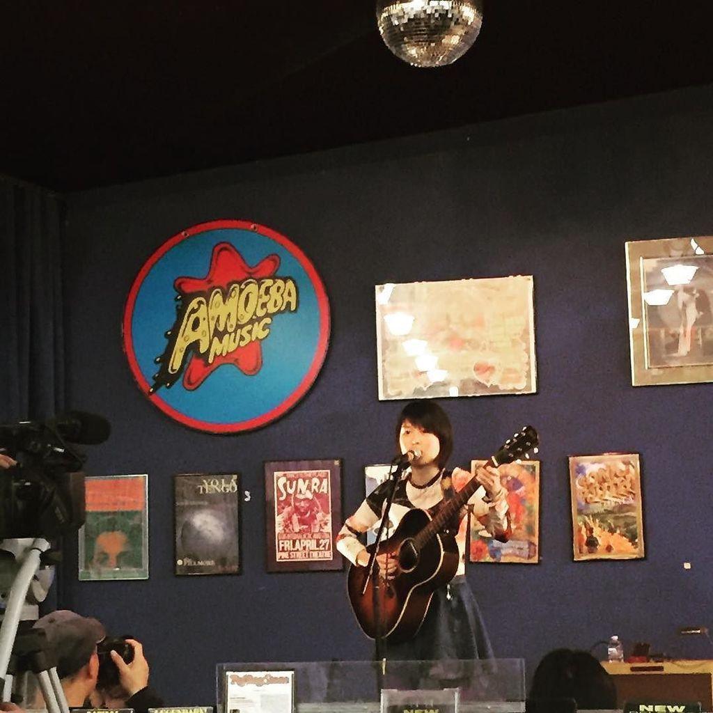 Rei @guita_rei is an amazing guitarist! First show in SF https://t.co/bizhcjPGKT