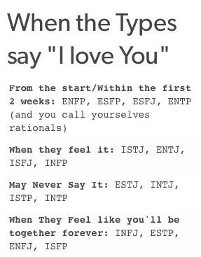 Istp and infj