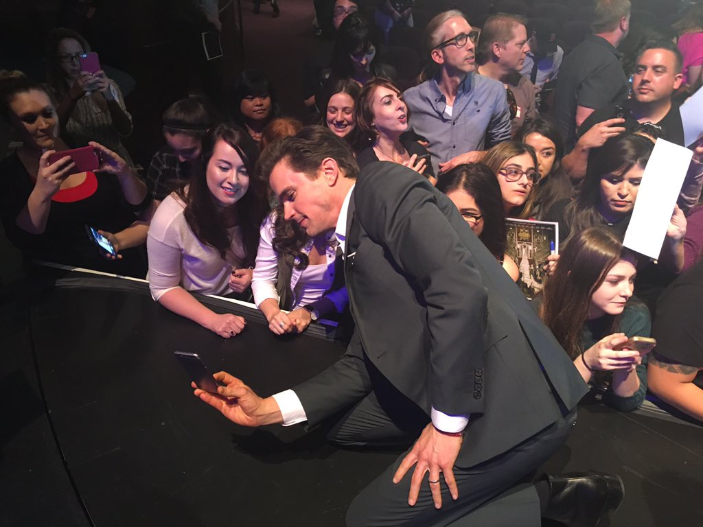 Great time @paleycenter #paleyfest with the cast and creatives from @AHSFX. Loved meeting the folks who watch!