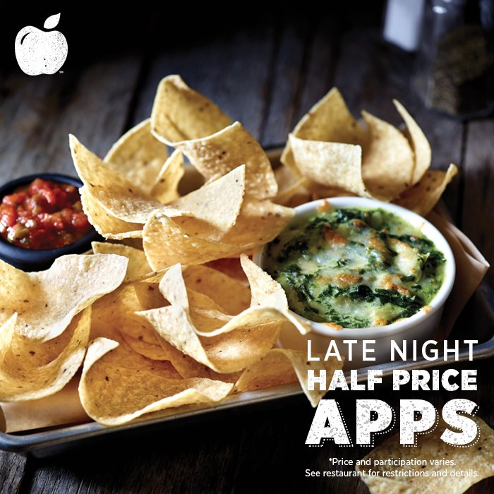 Applebee S Grill Bar On Twitter Dip Into The Spinach Artichoke Dip Of Your Dreams Late Night Halfpriceapps Https T Co Roeyyep1rl