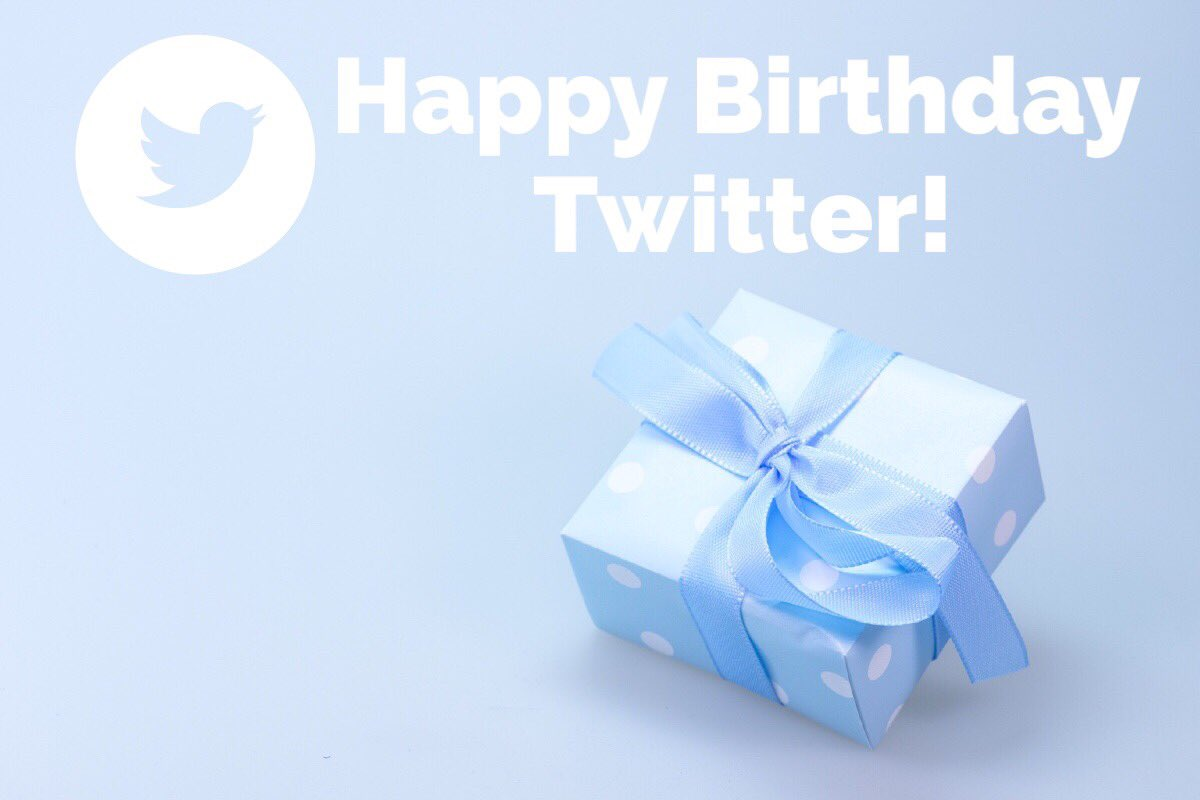 Happy 10 years, @twitter! Thank you for being a place for
