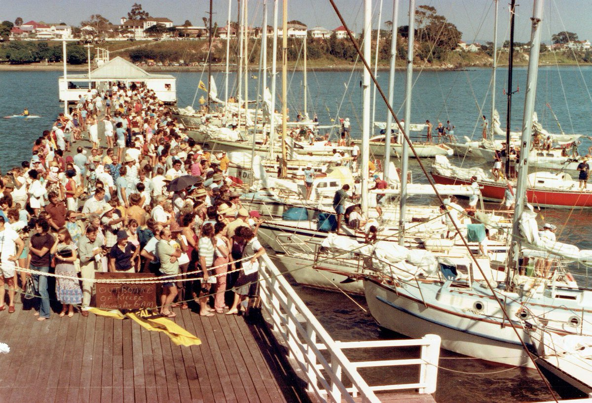 Image result for shorncliffe pier brisbane to Gladstone yacht race history