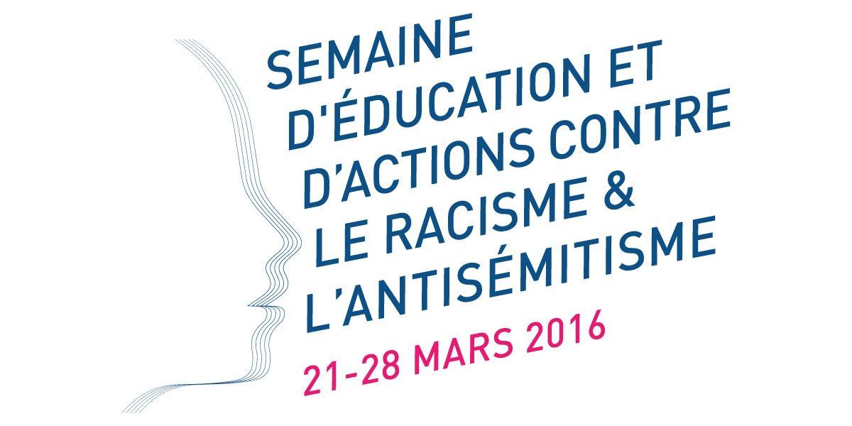 Thumbnail for Semaine contre le racisme et l'antisémitisme 2016