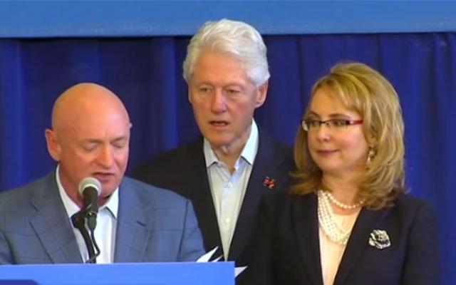 Was Bill Clinton stoned yesterday in Arizona?
