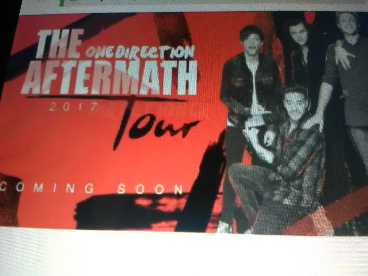 emmacurran on twitter aftermath tour 2017 one direction omfg https