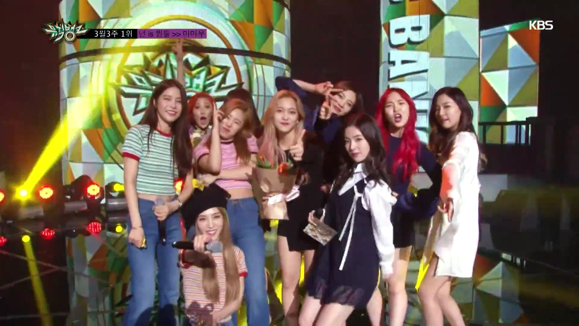160318 Music Bank Encore feat  Mamamoo, Red Velvet and