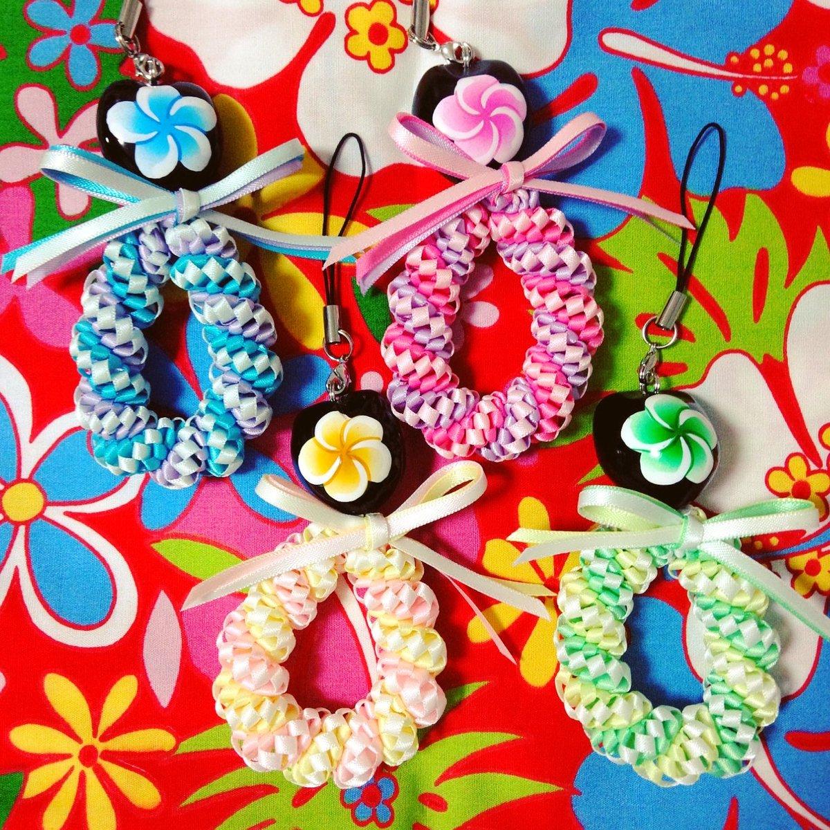 華やかリボンレイが素敵♡リボンレイの編み方、作り方♪
