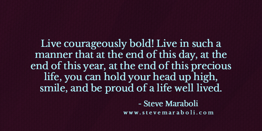 Live courageously bold! #quote #mondaymotivation<br>http://pic.twitter.com/8BGBP3aMDy