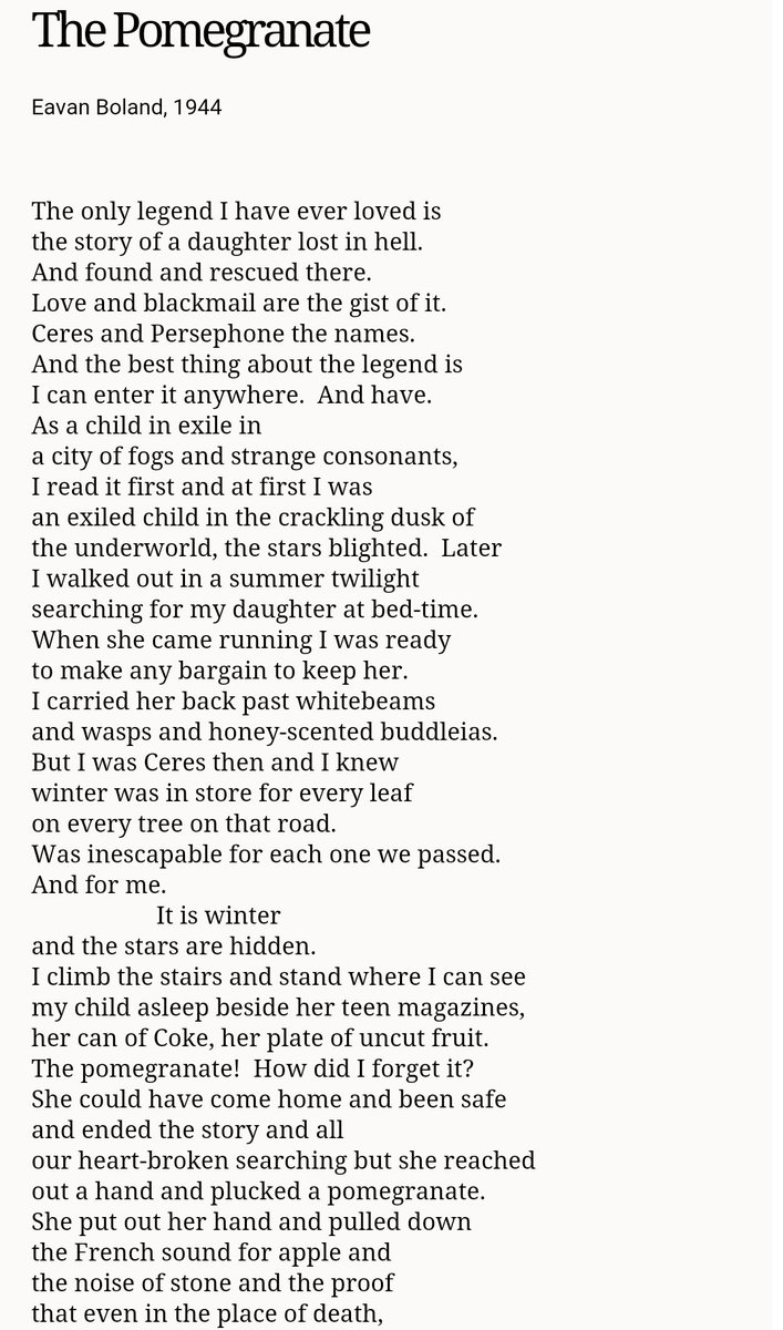 essay on eavan bolands poetry I have to do an essay on eavan bolands poetry and i dont have a clue where to start help please the (eavan boland) of the poets on your leaving cert course.