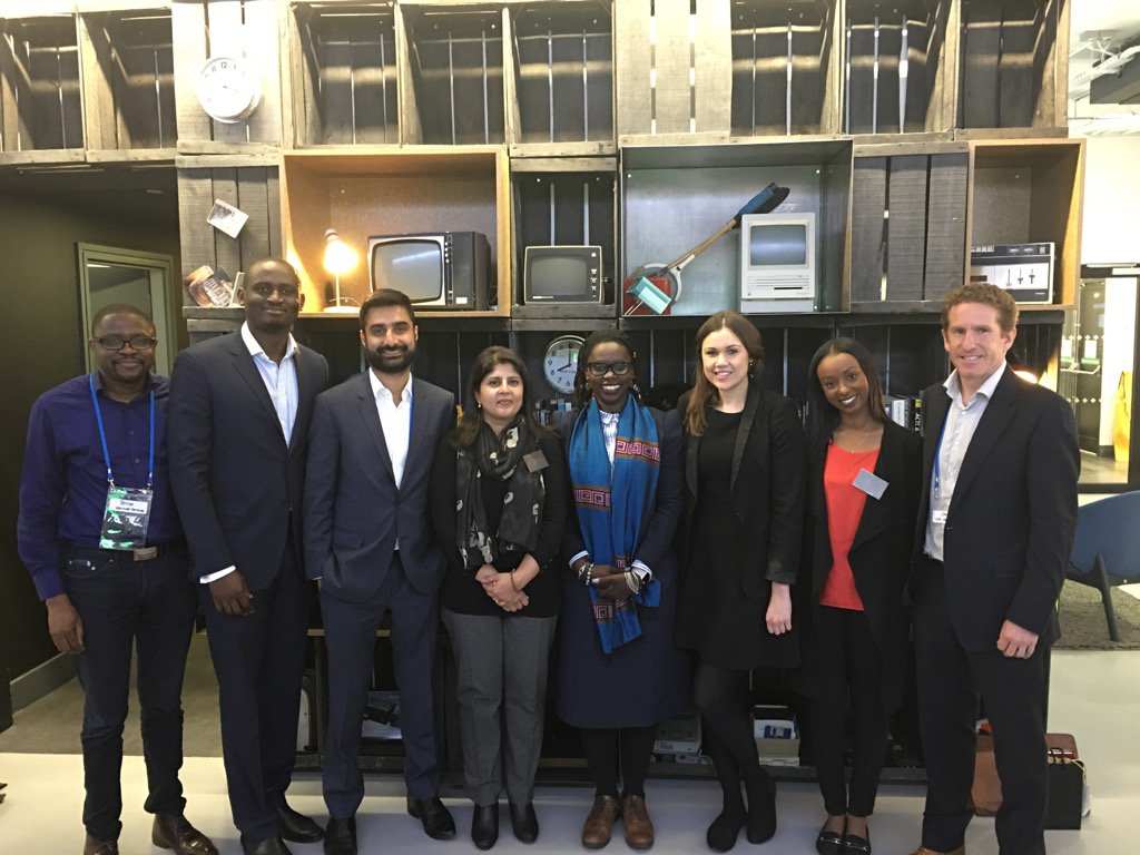 Wonderful morning well spent with @Marafoundation @BritishCouncil to mentor and empower young entrepreneurs #Africa https://t.co/hekOrF39fa