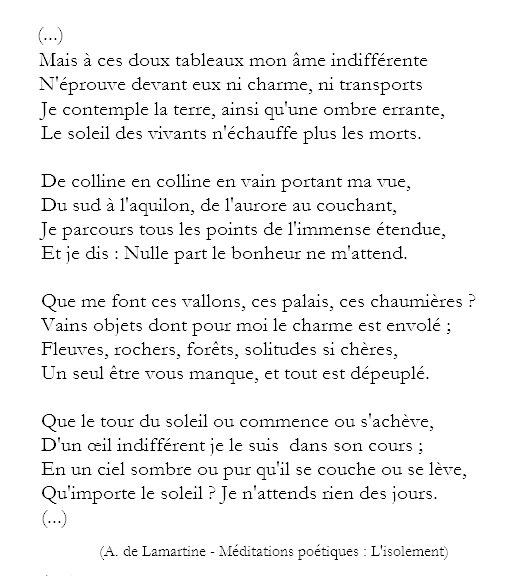 Ode R On Twitter Alphonse De Lamartine Méditations