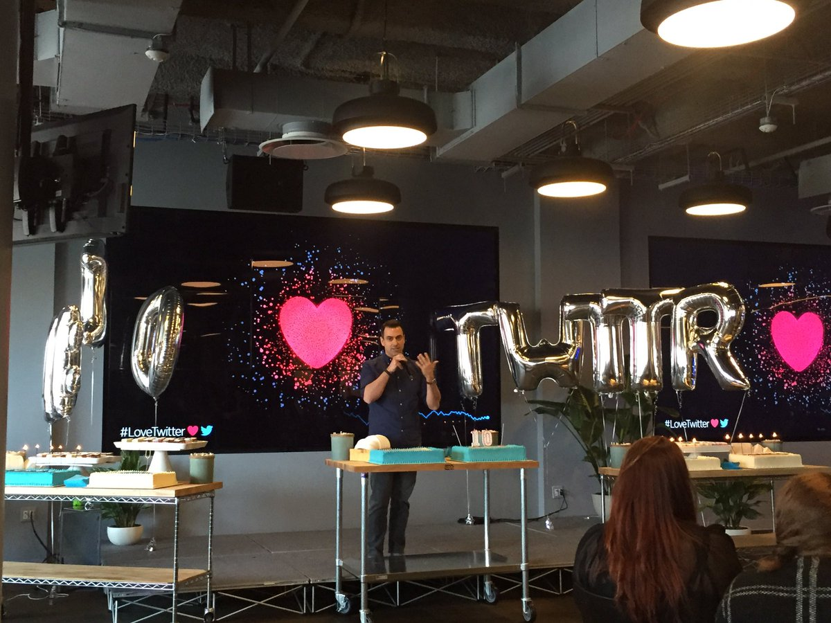 Kicking off our celebration in NYC! #LoveTwitter https://t.co/R6dtuyI5LQ