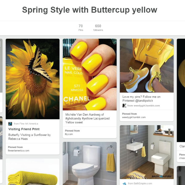 A touch of #spring style with beautiful buttercup yellow - https://t.co/VtwRDql1qv https://t.co/RB8QppM8bV