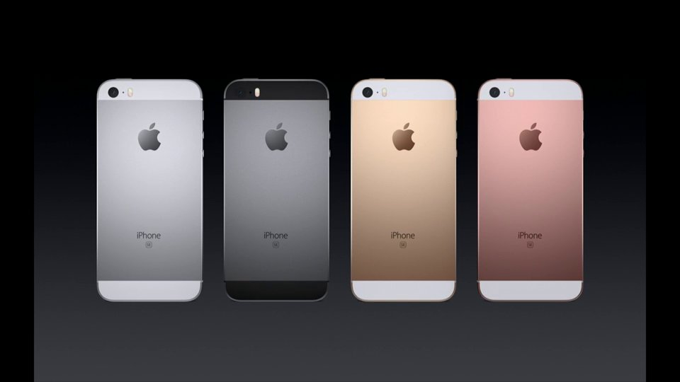 ・iPhone SE 予約24日、発売31日 ローズゴールド追加 16GB = $399 64GB = $499 A9・M9搭載、処理性能は6sと同等 https://t.co/zLS67T4WAK