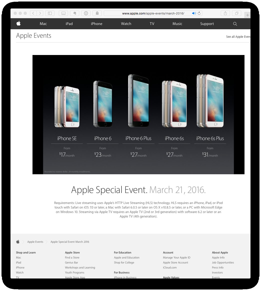 Apple is losing the name game