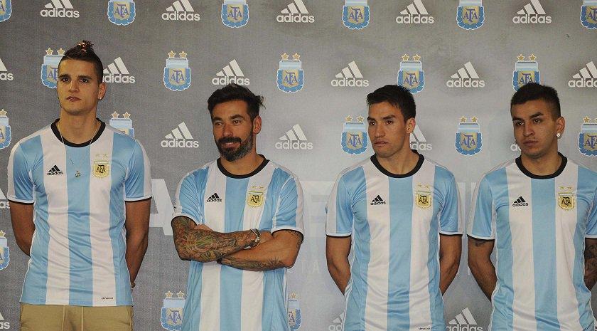 Аргентина представила новую форму