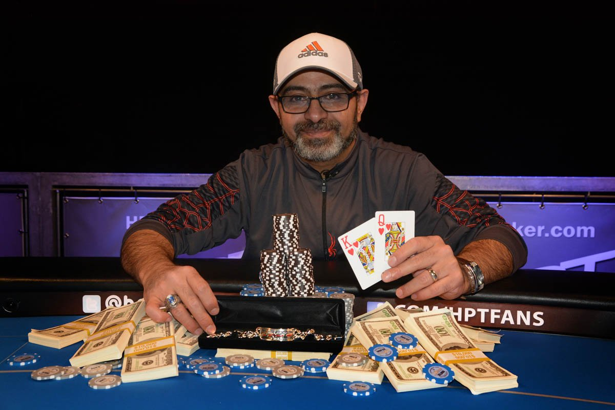 Congratulations to the newest HPT champ, Sameer Al-Dbhani. He earned $83,732 for the win at @Belterra! https://t.co/n6vn7E0FOZ