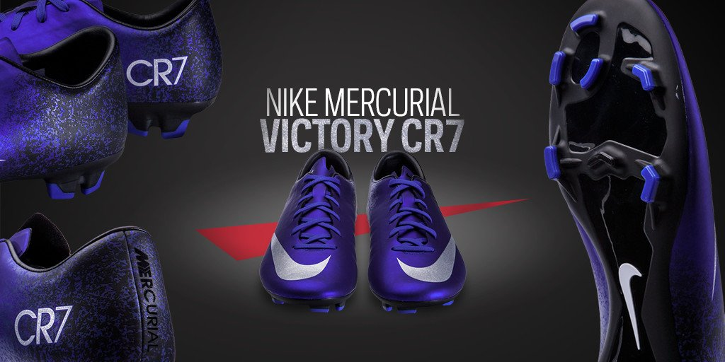 5a196dad3 inspired by cristiano ronaldo the men s nike mercurial victory v cr7 cleat  is here mar