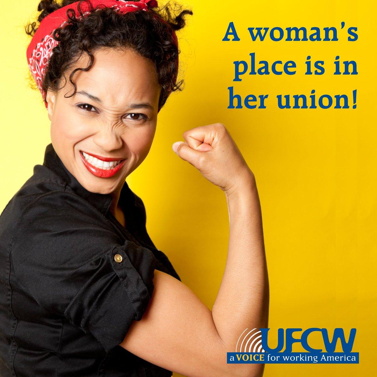 Women in unions r closer to closing gender pay gap than non-union wrkrs: https://t.co/sOTZmlYfXl #WomensHistoryMonth https://t.co/ROmH6jvqiU