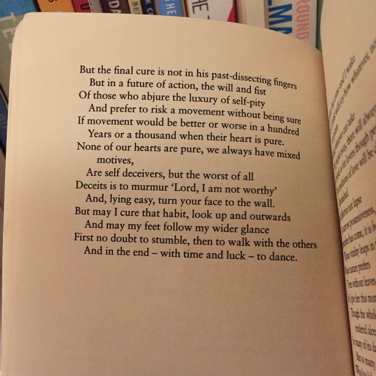 A house full of amazing poetry, yet I always return to Louis MacNeice's Autumn Journal for wisdom. #WorldPoetryDay https://t.co/OhHLnojgpu