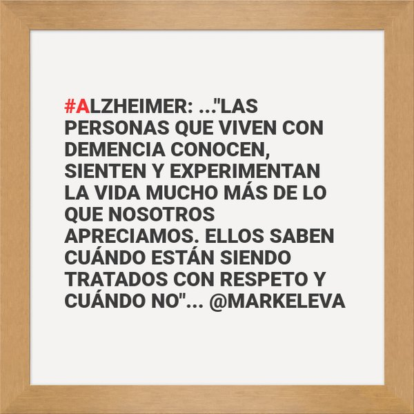 Cómo hablar con una persona con #Alzheimer https://t.co/LF0WJMd8Xy  by @markeleva #LaHoraChachi75 @LaHoraChaChiOfi https://t.co/ifAbytoyee