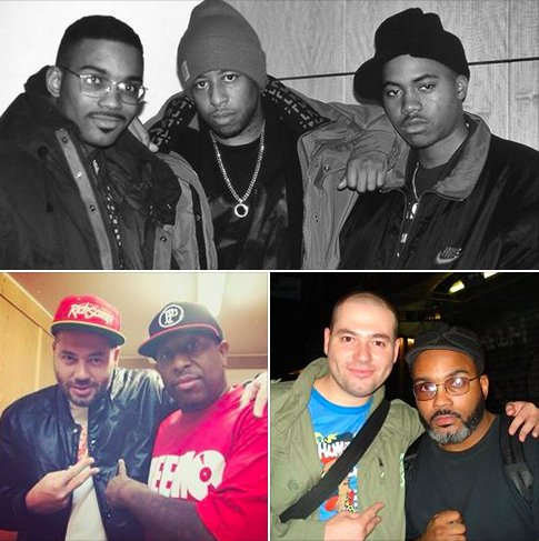 Happy birthdays to the legends @REALDJPREMIER x @PLargePro Many more gentlemen!! Salute!! #GangStarr #MainSource https://t.co/b780kvEPcO