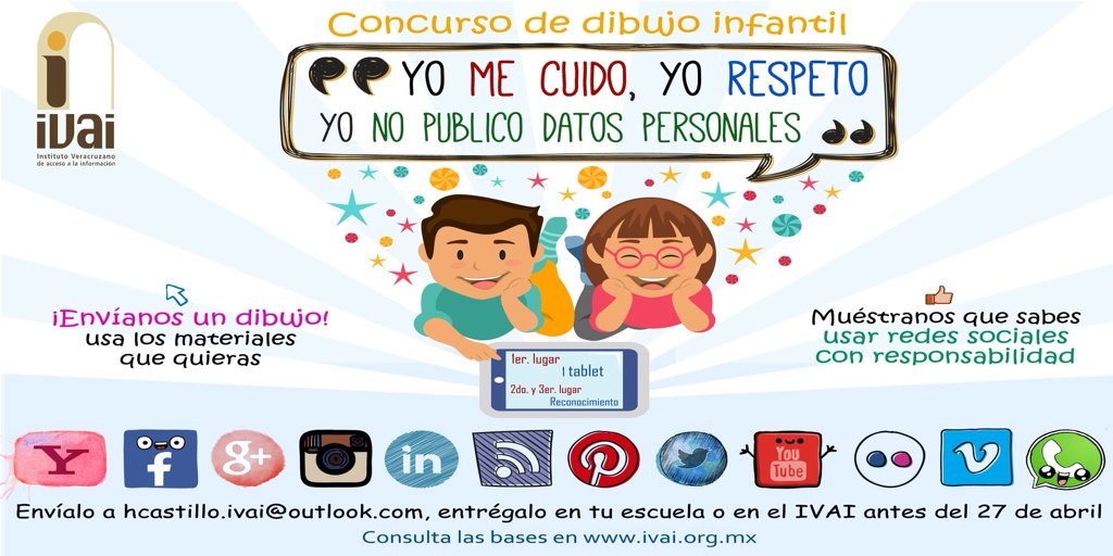 IVAI on Twitter IVAI invita a los nios del estado de Veracruz a