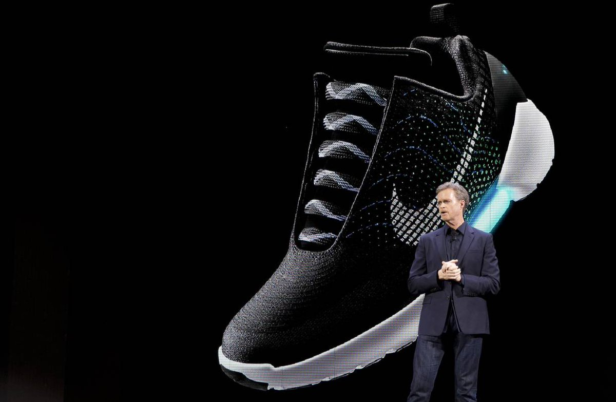 Nike's next step in tech: self-lacing shoes 🔓