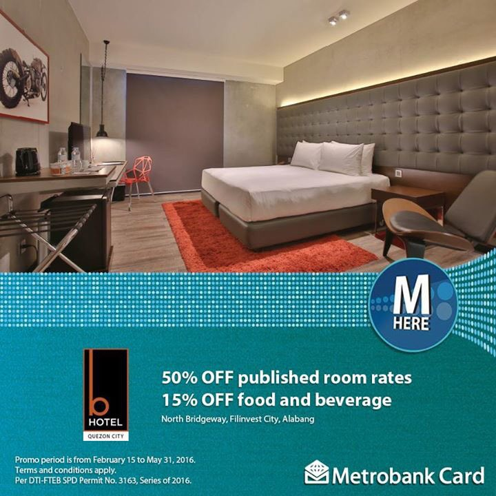 "Living Room 50 Off Food metrobank card on twitter: ""enjoy 50% off published room rates and"