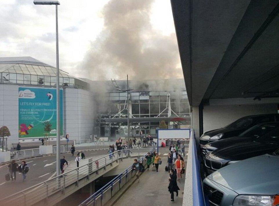 Украинские народные депутаты присутствовали в аэропорту Брюсселя во время теракта в аэропорту