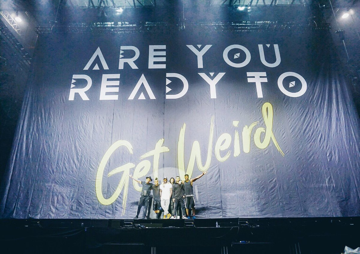 Have you seen our #MixMen on the road with @LittleMix yet!? Coming to a city near you. Book now #GetWeird #Tour https://t.co/I3vwsw3LAG