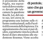 RT @antonio_bordin: Ma se #Boschi tiene lezioni all'Università allora a Wanna Marchi dovevano dare la laurea honoris causa.