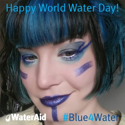 I've gone #Blue4water for @WaterAidUK on #WorldWaterDay as everyone should have clean water. https://t.co/W5T8DNwKii https://t.co/9HT1D70268