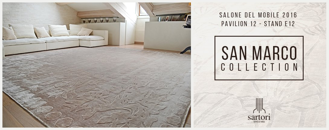 Sartori rugs on twitter sartori rugs al salone del - Sartori tappeti rovigo ...