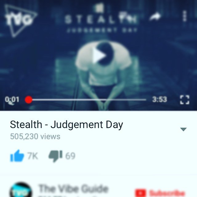 "Half a million plays on ""Judgement day"" I'm over whelmed by the love everyone is giving this track! #youtube #judge… https://t.co/NtWUukreJW"