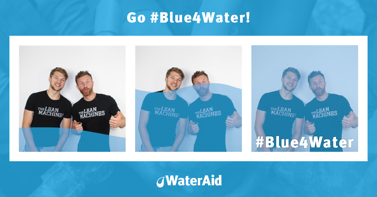Go #Blue4Water to support the 650 million people who still don't have safe, clean water. https://t.co/ZGBzcbPJYF https://t.co/oS4r8rC1Dd