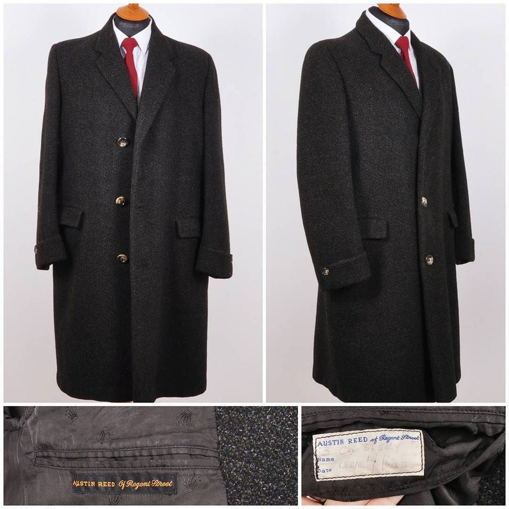 The Vintage Hq On Twitter A Cracking Austin Reed Of Regent Street London Tweed Coat Bespoke Dated November 1962 With Its Original Label In Https T Co L4b08xtmmr
