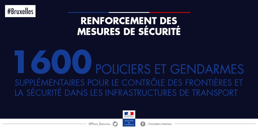 Minist re de l 39 int rieur on twitter renforcement des for Ministere exterieur france
