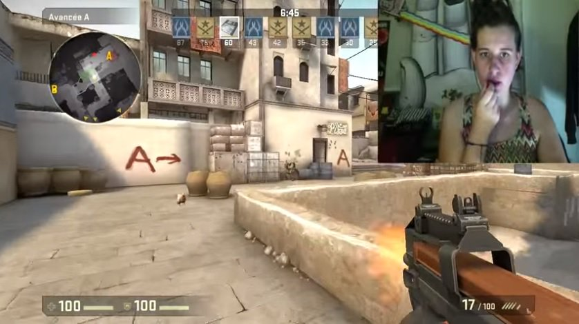 Twitch streamer plays Counter-Strike with lipstick controller https://t.co/gWbD6zpig3 https://t.co/wk5PD70F22