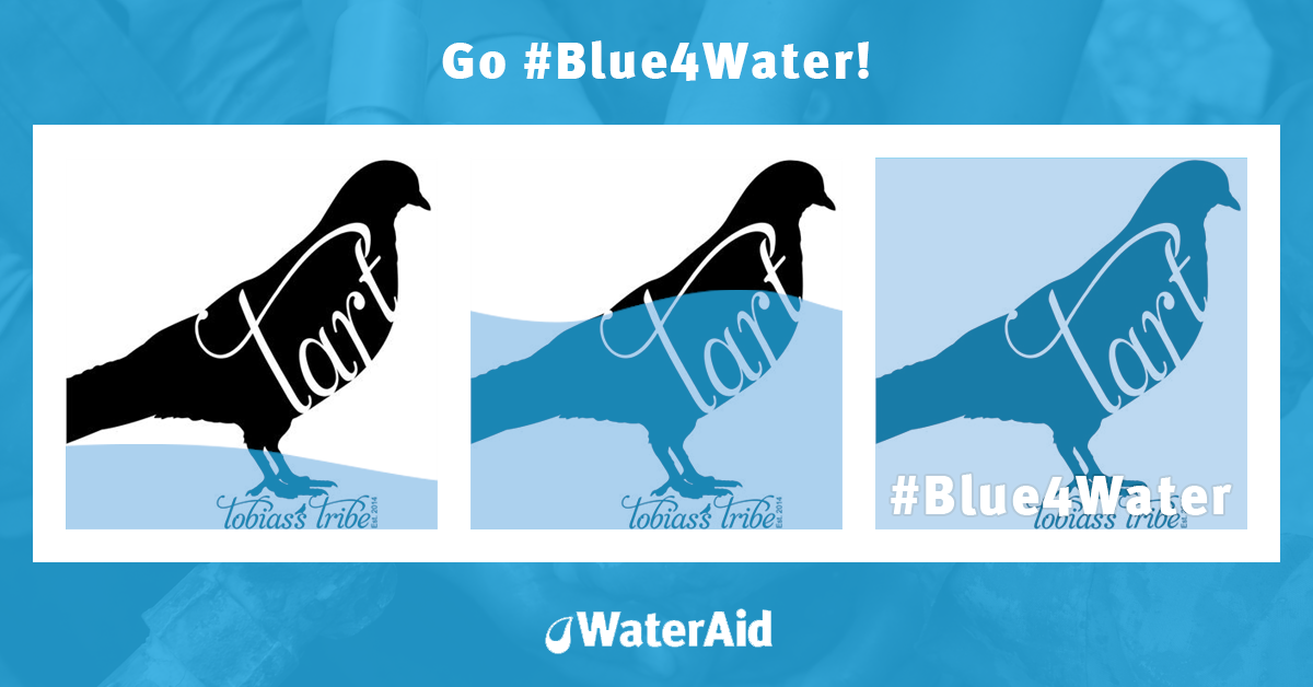 Go #Blue4Water to support the 650 million people who still don't have safe, clean water. https://t.co/kKu8fQPwvH https://t.co/pDIaqF2eP1