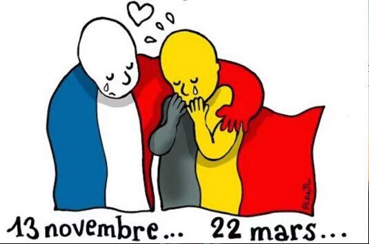 Praying for everyone in #Brussels and hoping that all can come together in love, not hate to overcome this tragedy https://t.co/M5X1iosMIY